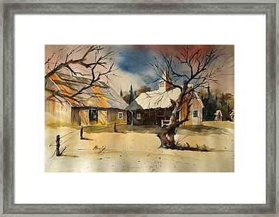The Cupola Framed Print