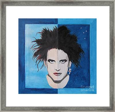 The Cure Framed Print by Jeepee Aero