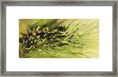 The Cure Framed Print