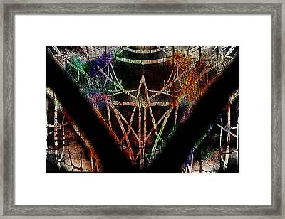 The Curious Colours Of Life Framed Print
