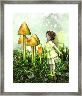 The Curious Fairy Framed Print