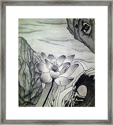 The Current Framed Print