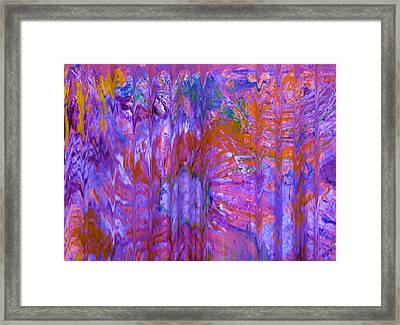The Curtains Call Framed Print by Anne-Elizabeth Whiteway