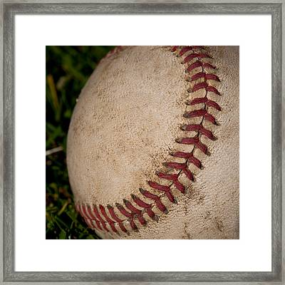 The Curveball Framed Print by David Patterson