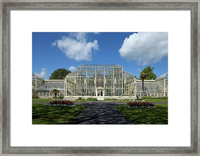 The Curvilinear Glasshouses, National Framed Print by Panoramic Images