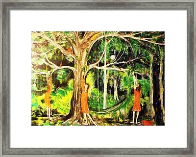 The Custard Apple Tree Framed Print