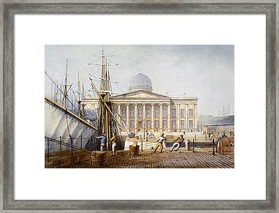 The Customs House And Revenue Building Framed Print by William Gavin Herdman