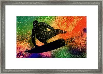The Cutback Framed Print by Michael Pickett