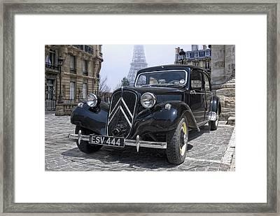 the CV11 in Paris Framed Print by Joachim G Pinkawa