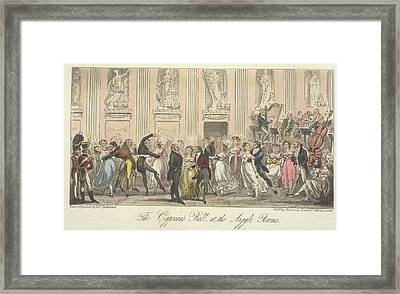 The Cyprian's Ball Framed Print