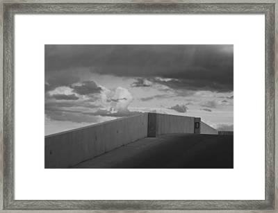 The D Ramp Framed Print