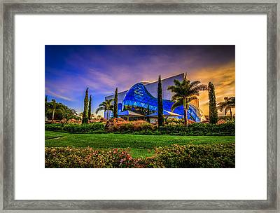 The Dali Museum Framed Print