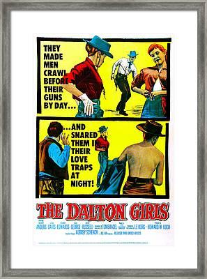 The Dalton Girls, Us Poster, 1957 Framed Print by Everett