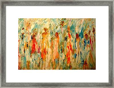 The Dance Framed Print by Barbara Pirkle