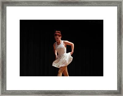 The Dance Framed Print by Carolyn Ricks