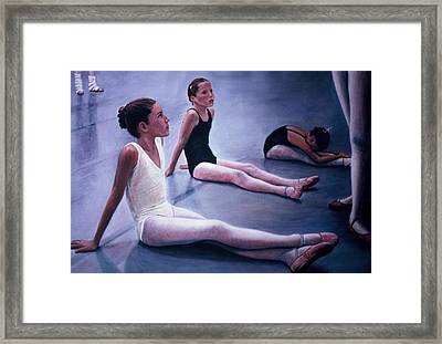 The Dance Class Framed Print by James Welch