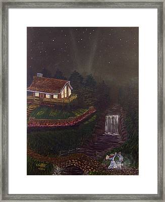 The Dance Framed Print by David Bentley