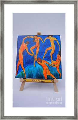 The Dance Framed Print by Diana Bursztein