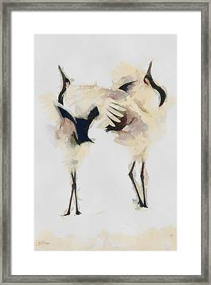 Framed Print featuring the painting The Dance by Georgi Dimitrov