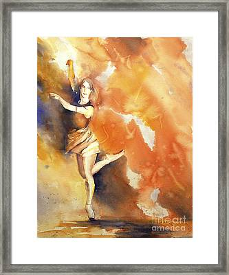 The Dance Goes On.... Framed Print by Ryan Fox