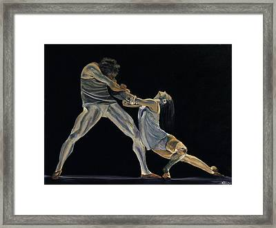 The Dance Framed Print by James Kruse