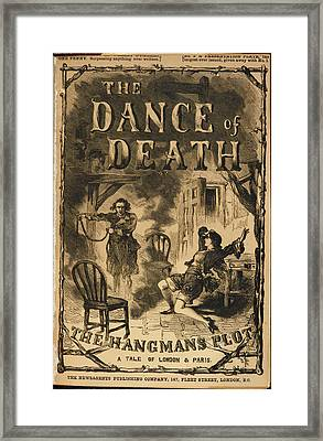The Dance Of Death Framed Print by British Library
