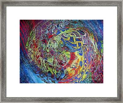 The Dance Of Life Framed Print