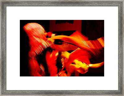 The Dance Season Framed Print by Money Sharma