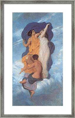 The Dance Framed Print by William Bouguereau