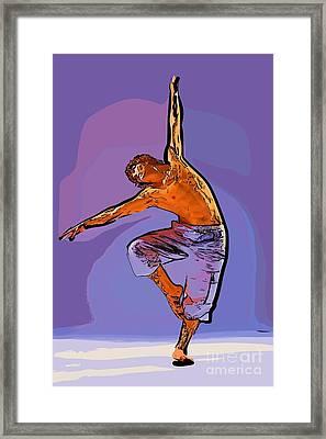 The Dancer 79 Framed Print