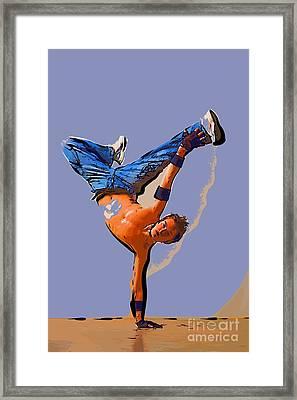 The Dancer 93 Framed Print