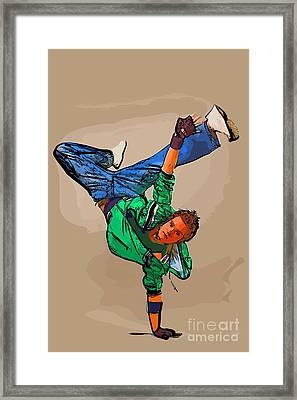 The Dancer 95 Framed Print