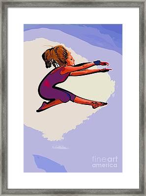The Dancer 97 Framed Print