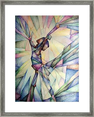 The Dancer Framed Print by Jennifer Apffel