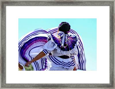 The Dancer Framed Print by Menachem Ganon