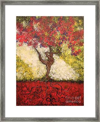 The Dancer Series 7 Framed Print