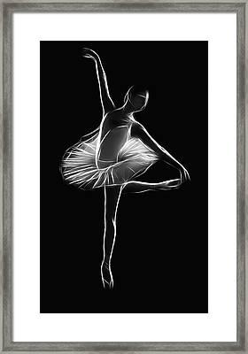 The Dancer Framed Print by Steve K