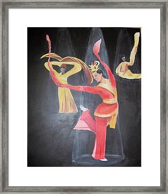 The Dancers Framed Print