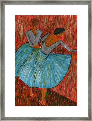 The Dancers Framed Print by John Giardina