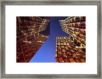 The Dancing Towers Framed Print