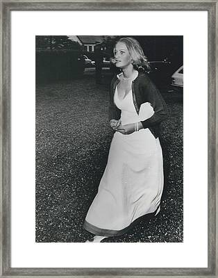 The Danes Believe Countess Desires Could Be The Bride For Framed Print by Retro Images Archive
