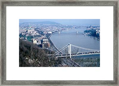 The Danube Framed Print by Eva Kato