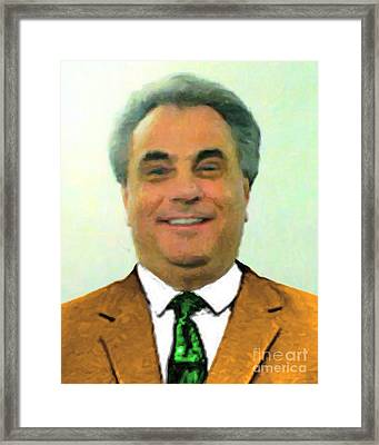 The Dapper Don 20130812 Framed Print by Wingsdomain Art and Photography