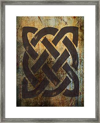The Dara Celtic Symbol Framed Print