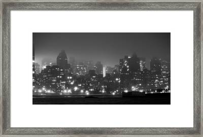 The Dark And Stormy Night Framed Print by JC Findley