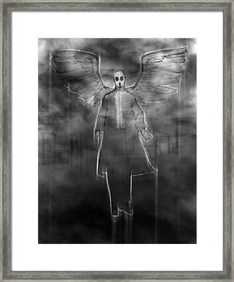 The Dark Angel Framed Print