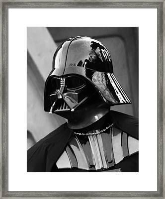 The Dark Leader Framed Print