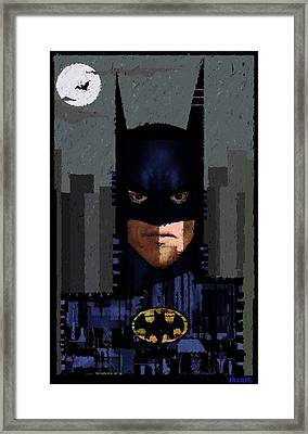The Dark Night Framed Print by Brett Sixtysix