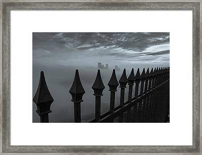 The Dark Night Framed Print by Jennifer Grover