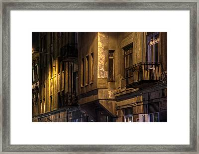 The Dark Side Framed Print by Nathan Wright